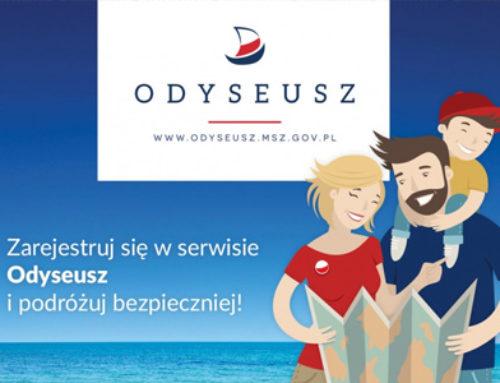 Serwis Odyseusz – zarejestruj się i podróżuj bezpiecznie